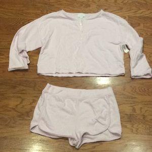 LOVE by Gap Pajama Set